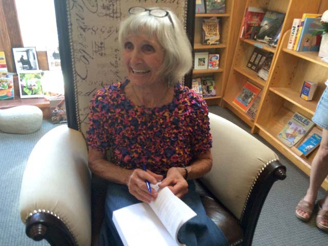 Memoir Book Signing in Taos!